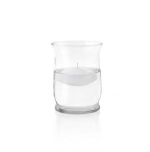 Διακοσμητική Γυάλα με Επιπλέον Κερί