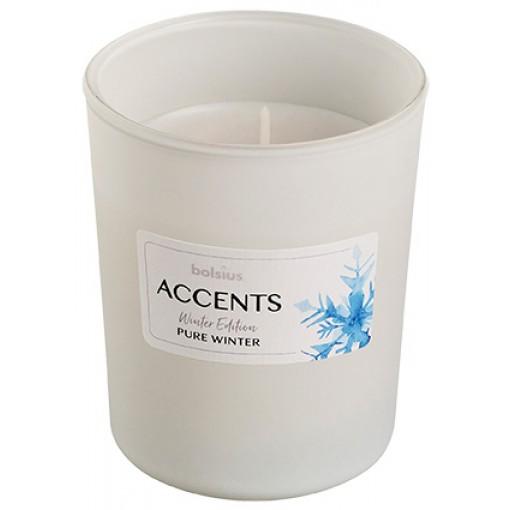 bolsius Αρωματικό Κερί σε Γυάλινο Βάζο _Pure Winter_